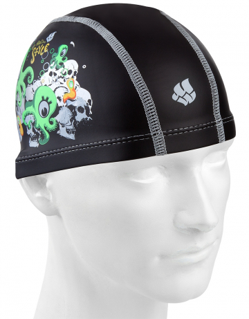 Junior PUT coated cap PU Coated Printed OCTOPUS
