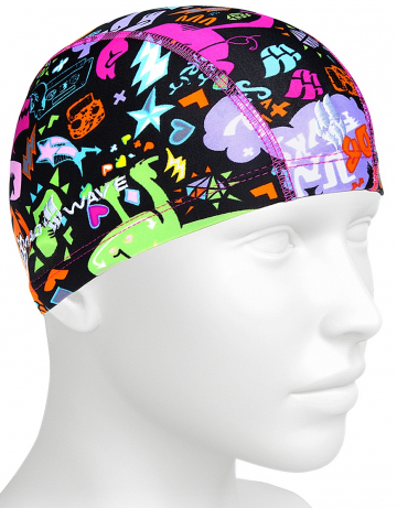 Junior textile cap Lycra MONSTERS