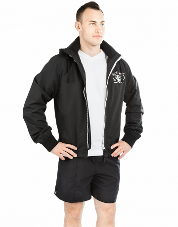 Man sports jacket STP WIND BREAKER