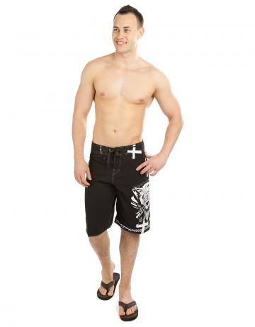 Men Shorts Wolfman