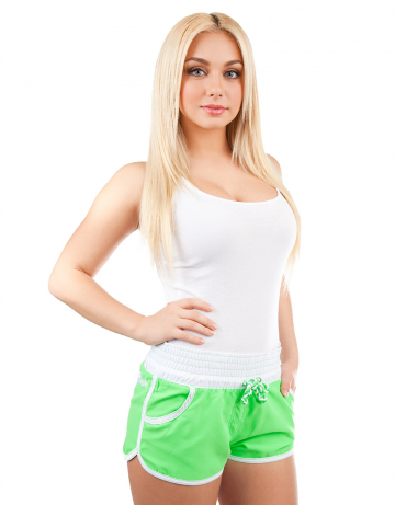 Woman shorts Women Solid