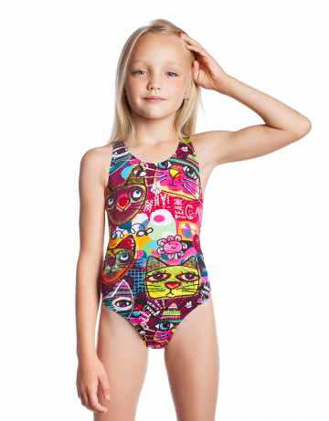 Girls swimsuit Meow PBT