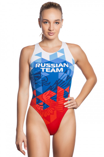 Women swimsuit antichlor RUSSIAN TEAM