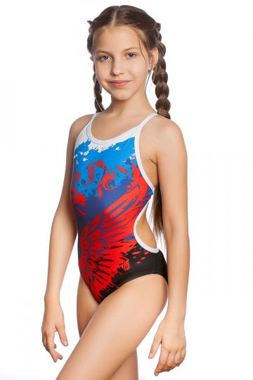 Junior swimsuit antichlor RUSSIAN TEAM