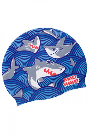 Junior silicone cap SHARKY