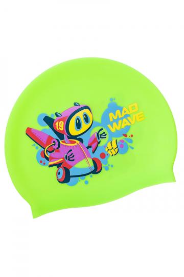 Junior silicone cap MAD BOT