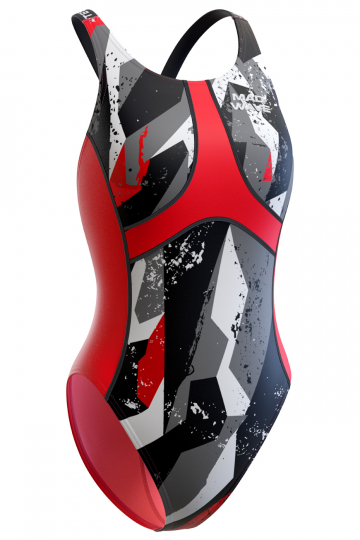Women swimsuit antichlor Criss Cross J1