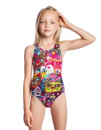 Girls swimsuit Meow PBT