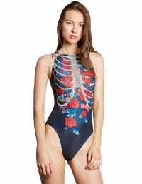 Waterpolo swimsuit antichlor Boneshaker WP