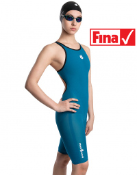 Women racing open back swimsuit Forceshell Women open back