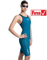 Women racing open back swimsuit Forceshell Women open back