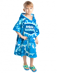 Kids poncho MAD BUBBLES