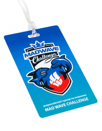 Badge MAD WAVE CHALLENGE