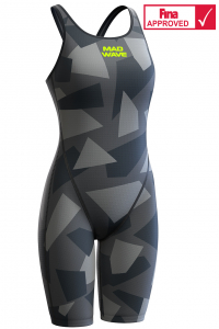 Women racing open back swimsuit Forceshell AIR FORCE