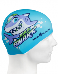 Junior silicone cap MAD SHARK