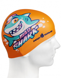 Junior silicone cap MAD SHARK