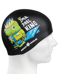 Junior silicone cap POOL KING