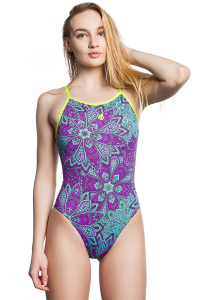 Women swimsuit antichlor MOSAIC