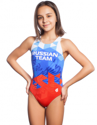 Junior swimsuit antichlor RUSSIAN TEAM