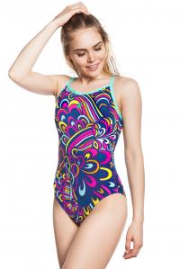 Women swimsuit antichlor MOSAIC