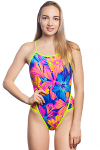 Women swimsuit antichlor DAHLIA