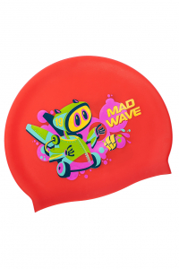 Junior silicone cap MAD BOT