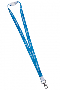 Lanyard MAD WAVE with safety clip