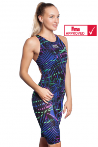 Women racing open back swimsuit BODYSHELL