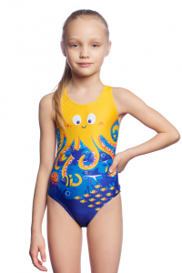 Girls swimsuit OCTOPUS