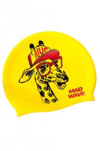 Junior silicone cap Giraffe
