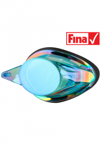Vision lens for swim goggles STREAMLINE+ Rainbow left