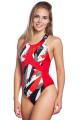 Женские  купальники  Спортивные Антихлор Criss Cross J1