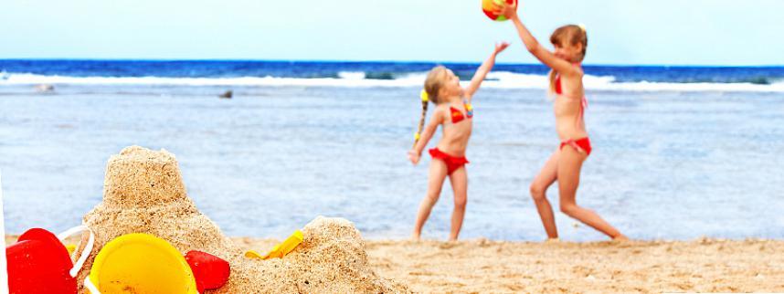 Детские пляжные купальники